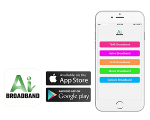 ai broadband app - sign up fibre broadband from your mobile